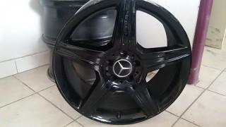 """19"""" kola AMG na Mercedes Benz S č.2"""