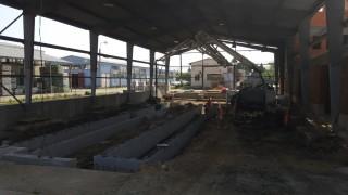 Servis Nelahozeves (Kralupy nad Vltavou) - Příprava na stavbu kanálů